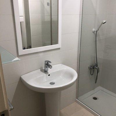 instalación de lavabo